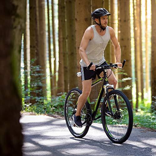 Bergsteiger Detroit 29 Zoll Mountainbike, geeignet ab 170 cm, Scheibenbremse, Shimano 21 Gang-Schaltung, Gabel-Federung mit Lockout-Funktion, Jungen-Fahrrad & Herren-Fahrrad - 5