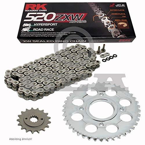 Chaîne de Ducati S-Sport 750 01–02, chaîne RK 520 zxw 98, ouvert, 15/40