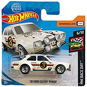 102 neu in OVP HOT WHEELS 2019 ´70 Ford Escort RS1600 HW Race Day