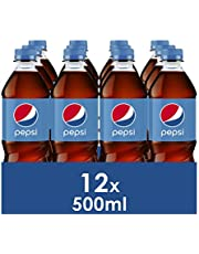 Pepsi Refresco De Cola, Botella, 12 x 500 ml
