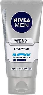 NIVEA MEN Face Wash, Dark Spot Reduction, 10x Vitamin C, 50ml