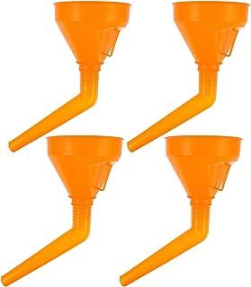 FAVOMOTO 4Pcs Óleo Funil Funis de Plástico Automotivo Funil Com Filtro de Bico de Extensão para Fluidos Do Motor A Gasolin...