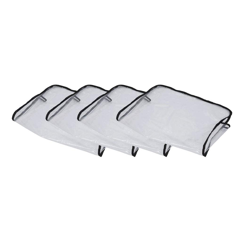menolana 4x Chair Ranking TOP14 Back Covers Beauty Easy-to-use Salon Plastic Professional