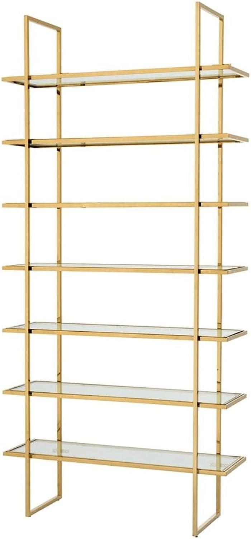 Casa Padrino Luxus Regalschrank Regalschrank Regalschrank Gold 120,5 x 40 x H. 253 cm - Luxus Möbel B078GM6S51 | Sale Online Shop  2ca640