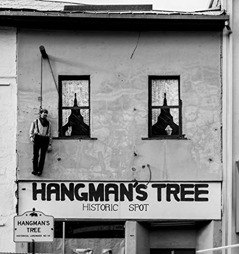 18 x 24 Black & White Canvas Wrapped Print of Hangman's Tree Historic site Placerville in California's Sierra Nevada Mountains y55 2012 Highsmith