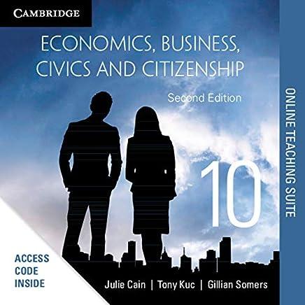 Economics, Business, Civics and Citizenship Online Teaching Suite (Card)