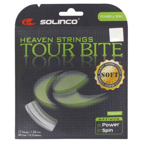 Solinco Saitenset Tour Bite Soft, Silber, 12.2 m, 0555220121900010
