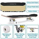 Zoom IMG-2 skateboard per principianti 79cm 20cm