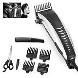 Cortadora de cabello, cortadora de cabello profesional para el hogar, afeitadora de barba de bajo ruido, herramientas de corte de cabello personales, kit de aseo para hombres, niños, barberos