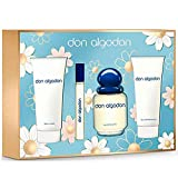 DON ALGODÓN pack colonia spray 100 ml + colonia 10 ml + gel de ducha 75 ml + body lotion 75 ml