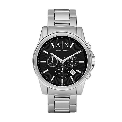 Armani Exchange Men's AX2084  Silver  Watch