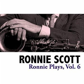 Ronnie Plays, Vol. 6
