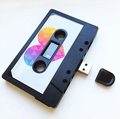 (16 GB) USB-Mixtape, Retro, Quirky Geschenk, Freund, Freundin, Geburtstag, Hochzeit, Jahrestag, Valentinstag, Weihnachten, Flash-Laufwerk