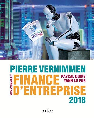 Finance d'entreprise 2018