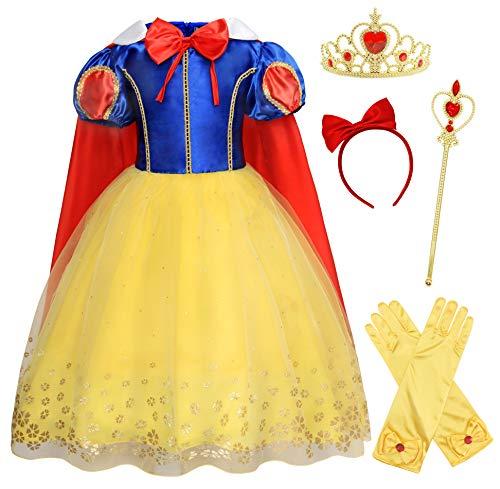 WonderBabe Fantasia Luxo Princesas Disney Completa Branca de Neve P006+P046 110