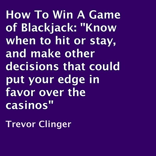 How to Win a Game of Blackjack cover art