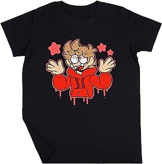 Tordsy Niño Niño Niña Unisexo Negro Camiseta Manga Corta Kids Black T-Shirt