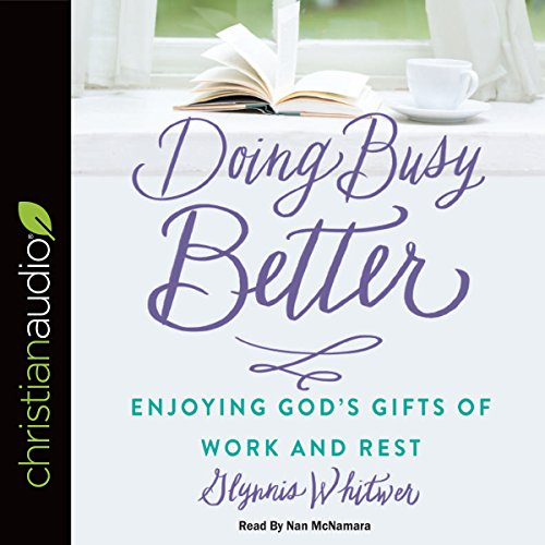 Doing Busy Better audiobook cover art