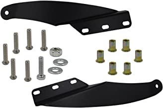 Dasen Upper Roof Windshield Mount Brackets Kit For 52 Inch Curved LED Light Bar Fit 1989-1998 Chevy GMC