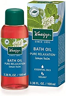 Kneipp lemon balm bath oil, 3.38 Fl Oz