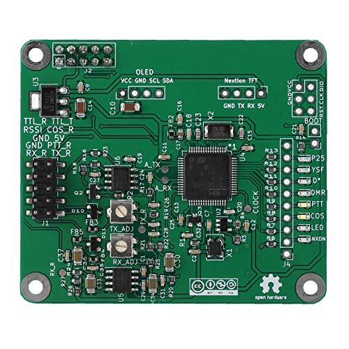 ASHATA Digital Voice Modem, MMDVM DMR Repeater Open Source Multi Mode Digitale Voice Modem Relais Board voor Raspberry Pi