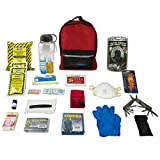 Ready America 70185 Deluxe Emergency Kit 1 Person 3 Day Backpack