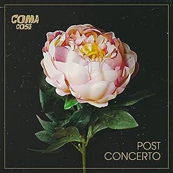 Post concerto