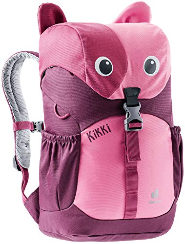 Deuter Kikki - Kids' Multipurpose Backpack, Hot Pink/Maroon