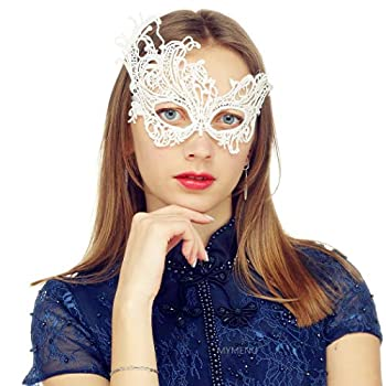 Best teal masquerade mask Reviews