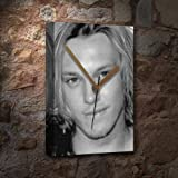 JAMIE CAMPBELL BOWER - Canvas Clock (A5 - Signed by the Artist) #js005