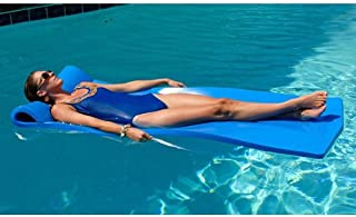 California Sun Deluxe Over-Sized Unsinkable Foam Cushion Pool Float