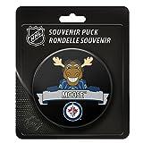 Winnipeg Jets Team Mascot NHL Souvenir Puck -