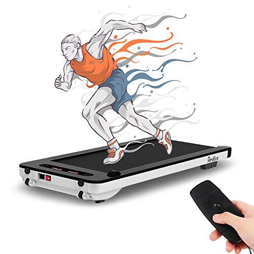 Laufband für Zuhause Elektrisch 10 KM/H Walking Pad Gehband Treadmill Walking Laufband für Geh- und Lauftraining, Starker & Leiser Motor, Fernbedienung, Bluetooth, bis 100kg Belastbar [DE Lager]