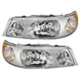Driver and Passenger Headlights Headlamps Replacement for 1998-2002 Town Car 1W1Z 13008 CA 1W1Z 13008 BA
