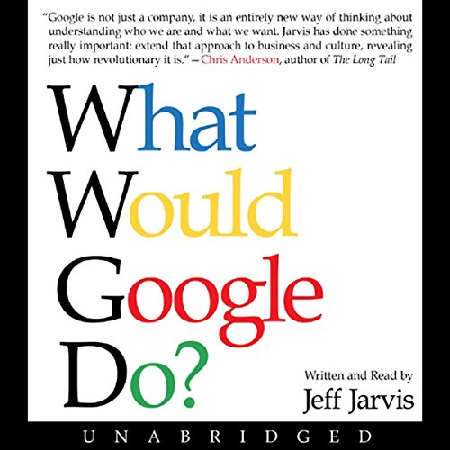 What Would Google Do?  audiobook cover art