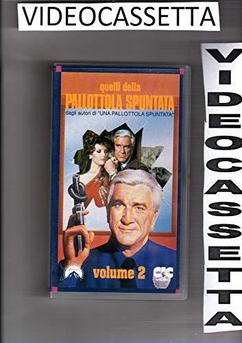 QUELLI DELLA PALLOTTOLA SPUNTATA VOLUME 2 - LESLIE NIELSEN - VHS