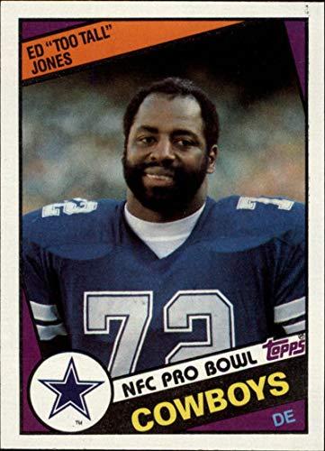 1984 Topps #242 Ed Too Tall Jones Cowboys NFL Football Card NM-MT