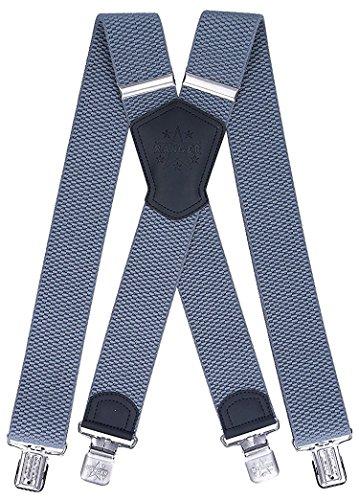 Ranger Hosenträger X Form robust Dx50 (dunkelgrau 1)