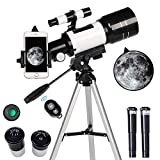 ToyerBee Telescope for Kids& Beginners, 70mm Aperture 300mm Astronomical...