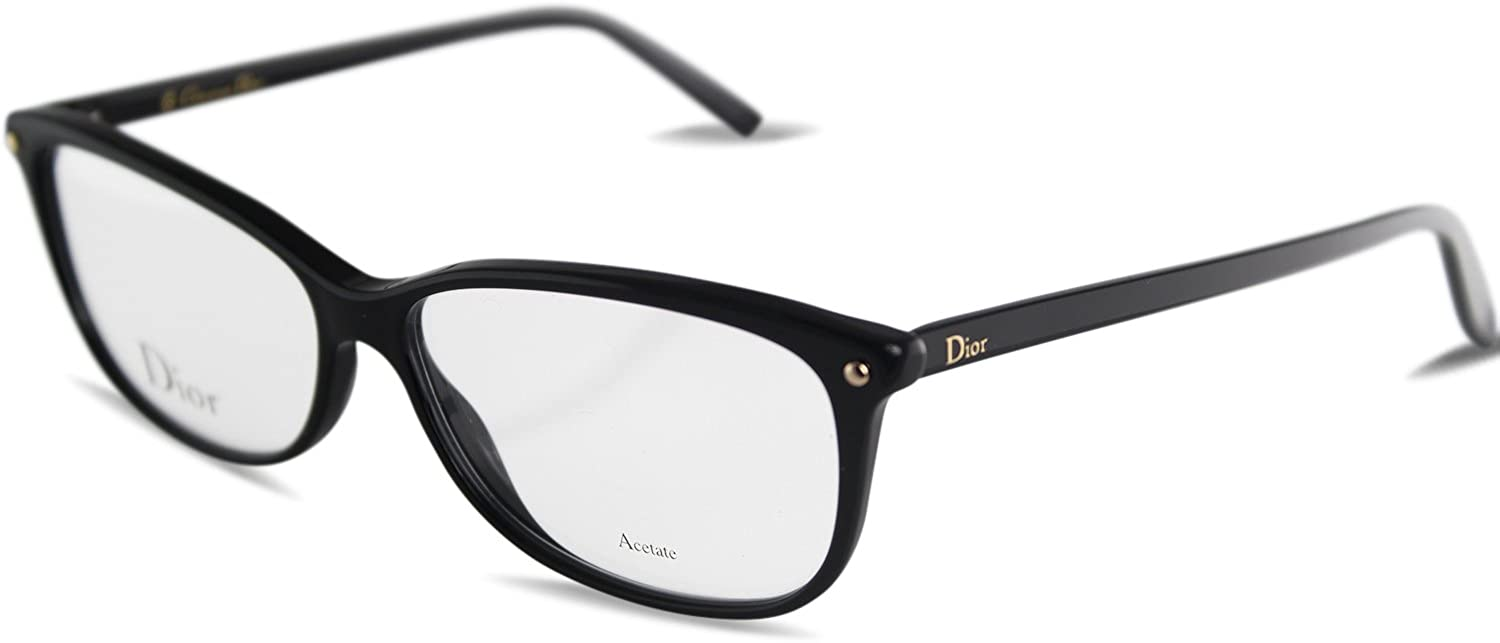Christian Dior  CD 3271, Wayfarer, acetate, women, BLACK(807), 55 13 140