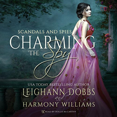 Charming the Spy audiobook cover art