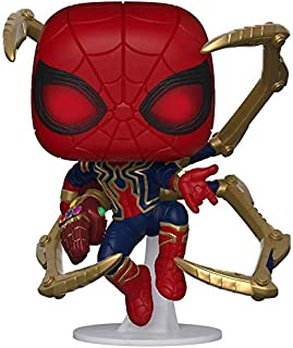 Funko Pop Marvel Avengers Endgame Iron Spider with Nano Gauntlet