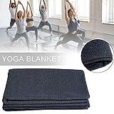 Manta de meditación de Yoga, Manta de Yoga Gruesa de Material de Lana: Robusta y Duradera para Hombres, Mujeres, niños