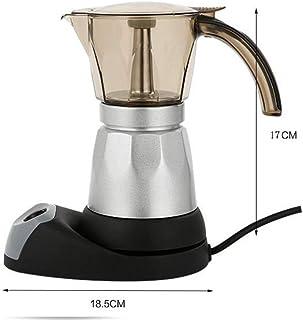 Cafetera, Máquina de Café Expreso Webla Pot Café Mocha de Aluminio 480W Para La Limpieza Y Oficina Plug In - 150 Ml/3 Tazas
