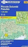 piccole dolomiti-pasubio. 1:25.000 ediz. italiana e tedesca: 056