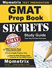 [Mometrix Business School Admissions Test Team] GMAT Prep Book: GMAT Secrets Study Guide 2019 & 2020, Full-Length Practice Test, Step-by-Step Review Video Tutorials for The GMAT Exam: - Paperback