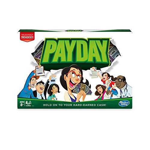 Jeu Jour de paye Pay Day Hasbro Game - 0