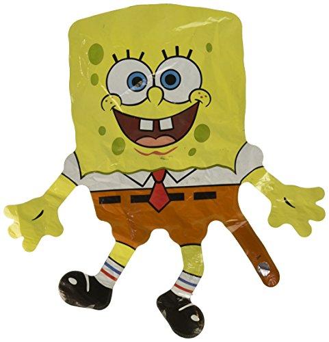 Spongebob sponskop mini vorm ballon (1 CT) (1 per pakket)