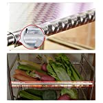 Kitchen-storage-and-organization-Kitchen-Shelf-304-Stainless-Steel-Kitchen-Vegetable-Shelf-Floor-Basket-Basket-Storage-Basket-Microwave-Cooker-Pot-Pot-Size-49-32-125CM-Standing-shelf-units