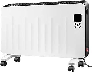 LNDDP Radiador convección con termostato Ajustable/3 configuraciones Calor Ajustables (750/1250/2000 W)/24-HR- Temporizador/Eléctrico/Calefacción por convección